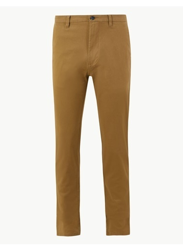 Marks & Spencer Slim Fit Chino Pantolon Bej
